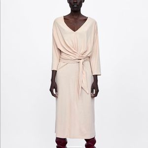Zara NEW dress with bow